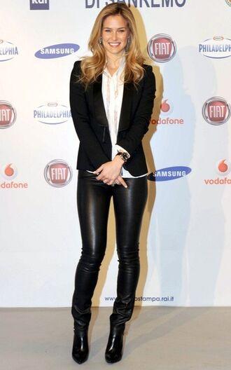 pants bar refaeli leather pants leather leggings