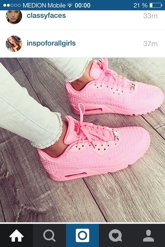 shoes pink nike urban urban pastel pink
