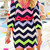 Chevron Dress - Pink | Shop Dandy LLC
