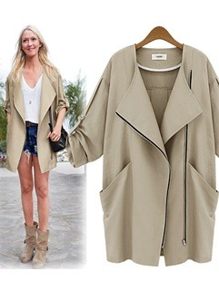The trendy light weight trench jacket