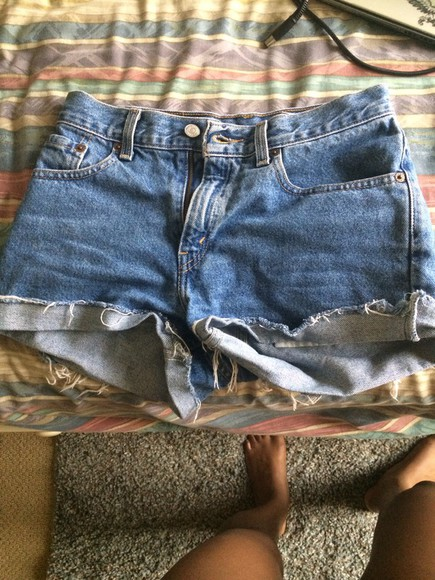 High waisted shorts levis shorts