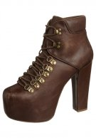 Jeffrey Campbell EVEREST - High Heel Stiefelette - braun - Zalando.de