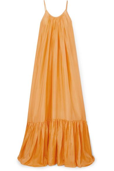 Kalita - Brigitte silk-habotai dress