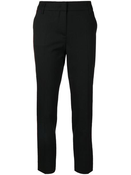 Dorothee Schumacher cropped women spandex black wool pants