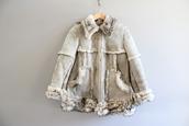 coat,gray suede coat,suede fur coat,vintage suede coat,shearling fur coat,leather fur coat,80s suede coat