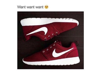 shoes nike nike shoes red shoes cool