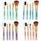 Maange 5pcs makeup brushes set eyeshadow blush eyebrow lip cosmetic tools beauty