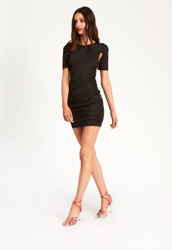 Miss California Mini Dress - BLACK - Lioness