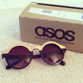sunglasses retro boho hippie festival music festival round sunglasses asos