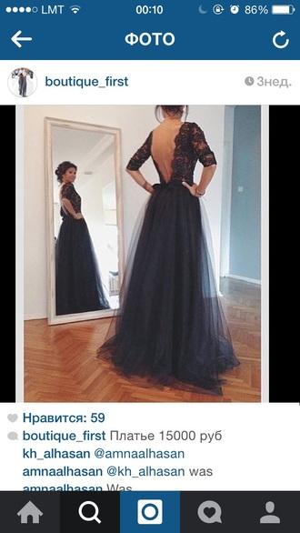 dress black glitter back long dress beautiful grey ribbons