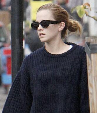 sweater oversized sweater knitwear emma watson fall outfits