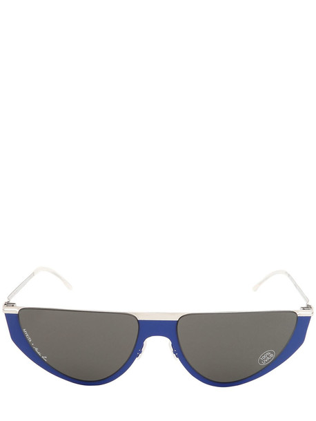 MYKITA Martin Rose Selina Metal Sunglasses in blue