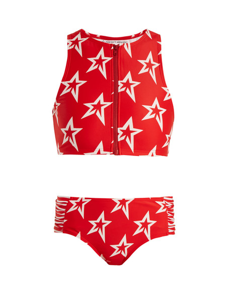 Perfect Moment bikini high red swimwear