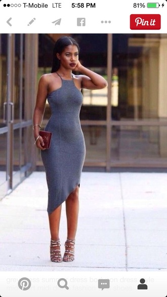 dress bodycon dress halter dress halter crop top midi dress burgundy dress