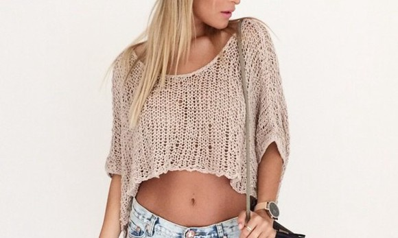 knit nude knitted