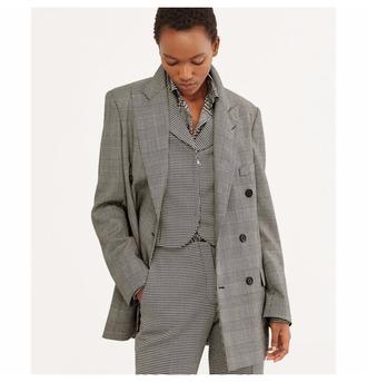 coat grey blazer
