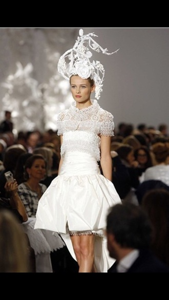 dress chanel couture couture dress