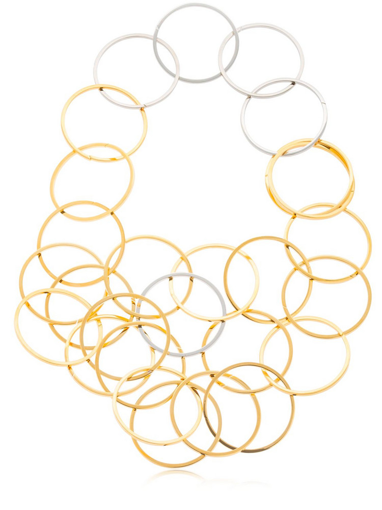 VITA FEDE Zaha Link Necklace in gold / silver