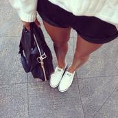bag,lovely,fold,grey,shorts,knit,sweater,black,school bag,computer case,lether,everyday wear,black bag,leggings