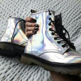 shoes holographic grunge punk rock alternative