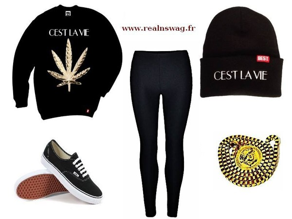 sweater fashion clothes shoes pants jewels hat