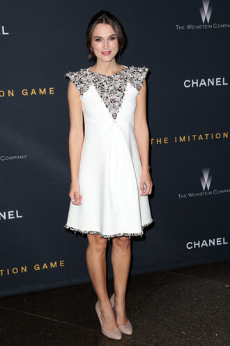 dress white dress keira knightley