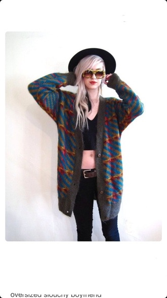 cardigan vintage knitted cardigan