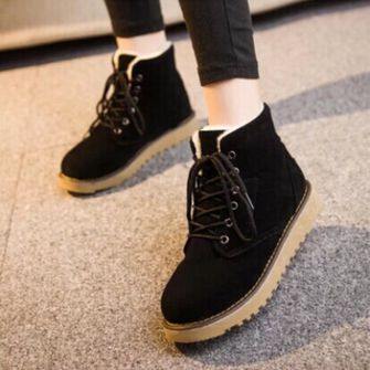 KVOLL Boot Ankle Boot Casual Shoes Women Kvoll Wedge Shoes Lotus