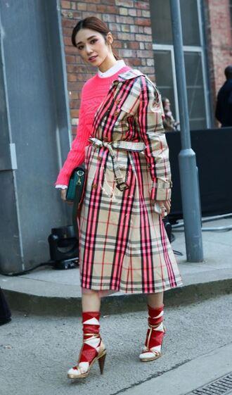 coat blouse streetstyle london fashion week 2018 fashion week