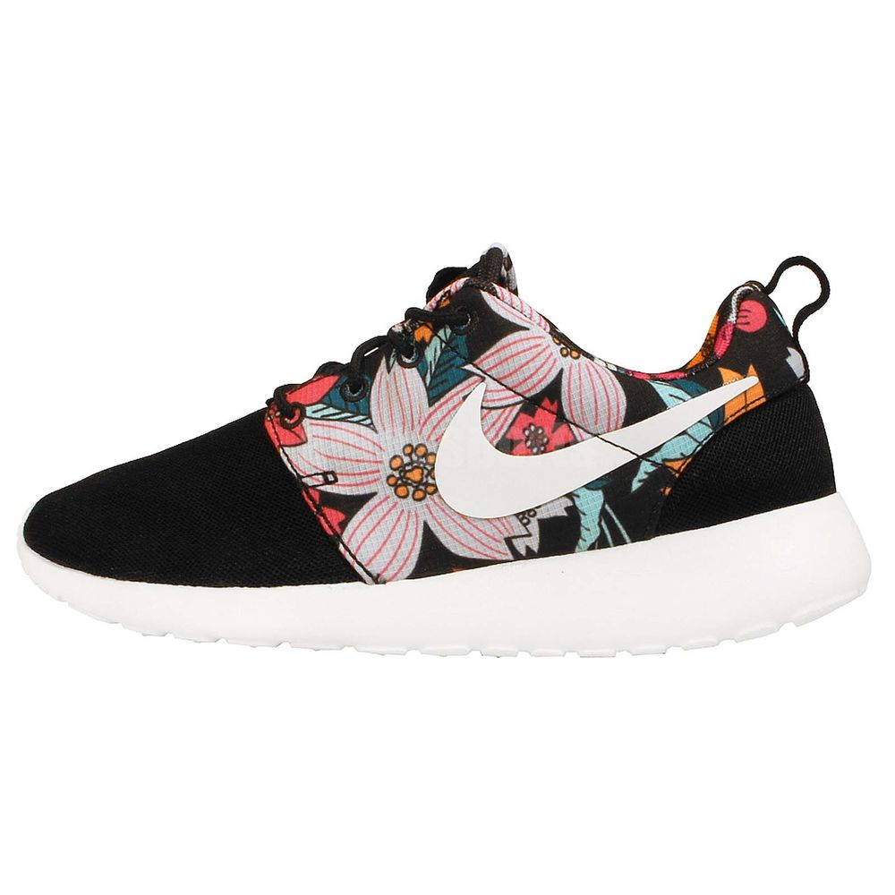 timeless design 97d28 fb42f Wmns Nike Roshe One Print Hawaii Aloha Floral Rosherun NSW Womens Running  Shoes