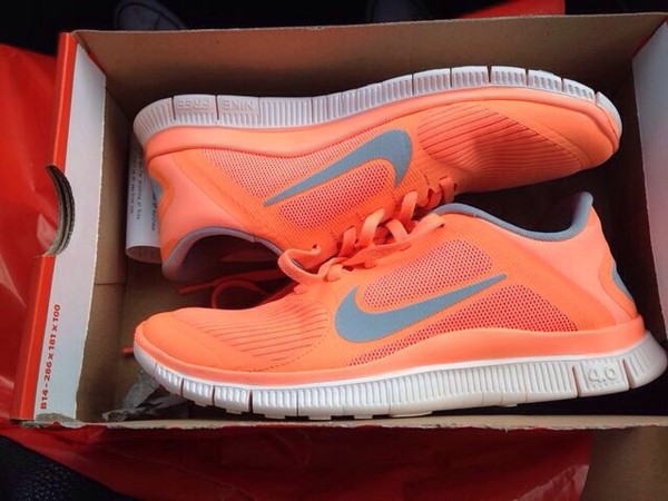 shoes nike orange