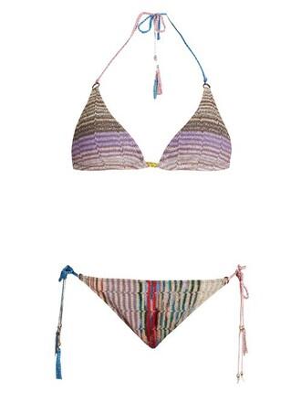 bikini triangle bikini triangle knit swimwear
