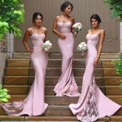 dress,prom,prom dress,pink,lace,lace dress,tulle dress,pink dress,pastel,pastel pink,maxi,maxi dress,long,long dress,cute dress,sparkle,shiny,bridesmaid