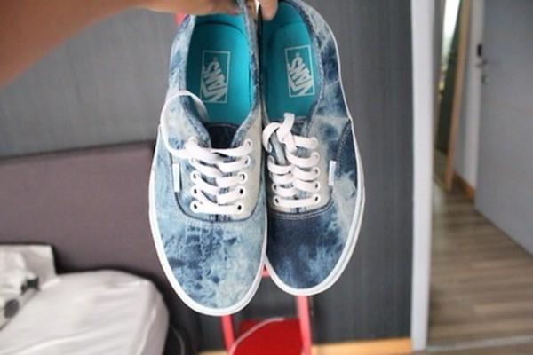 shoes vans vans indie dark blue blue navy blue tie dye blue and white low  tops. 8b2504d4a