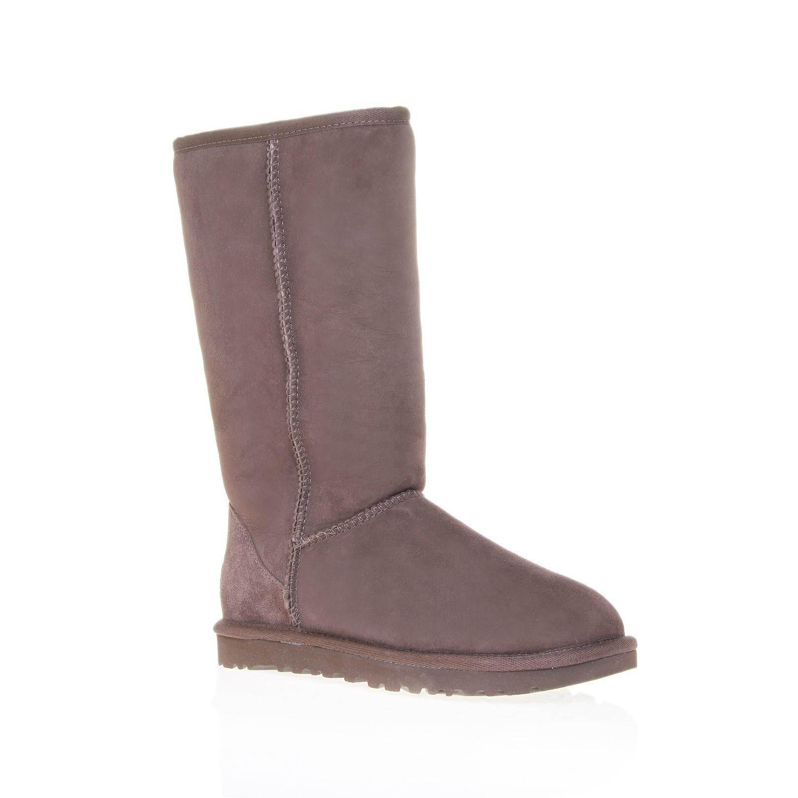 kurt geiger chocolate brown flat suede boots