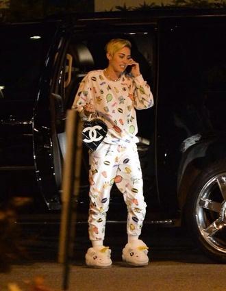 pajamas miley cyrus
