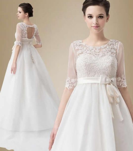 dress, 20s wedding dresses, vintage wedding dresses - Wheretoget