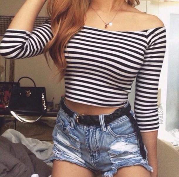 t-shirt shorts