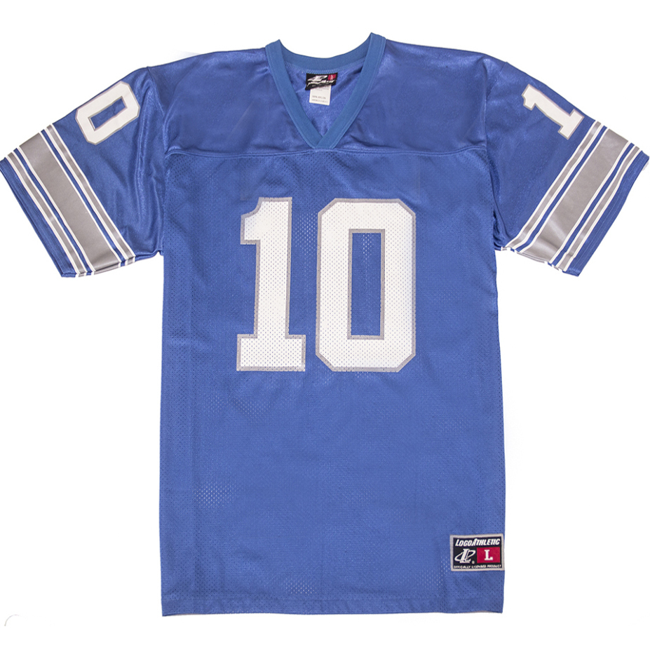 Detroit lions batch jersey