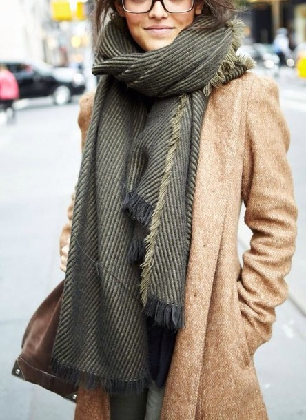 coat long coat camel coat camel oversized scarf boyfriend coat scarf accessories warm/earthtone