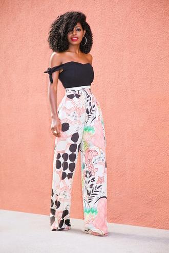blogger top jumpsuit pants shoes