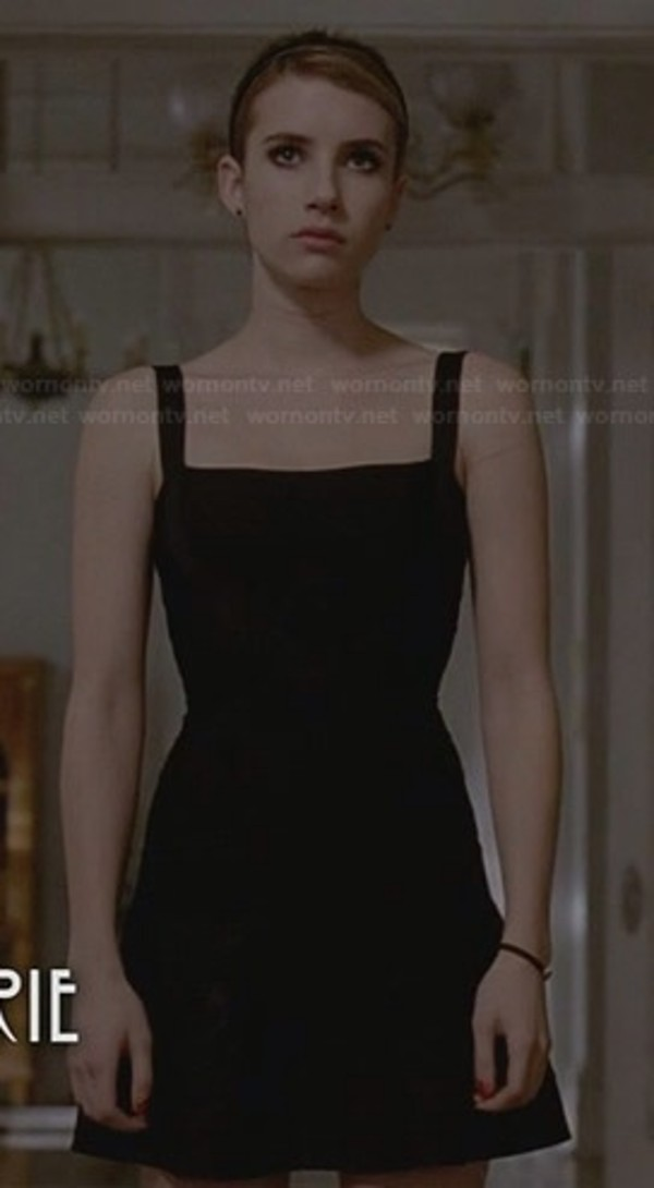 dress little black dress emma roberts