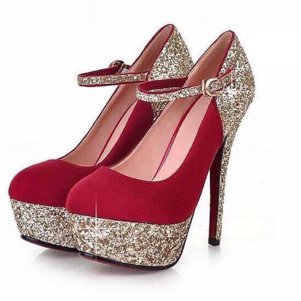 Sparkly Red Heels | Fs Heel