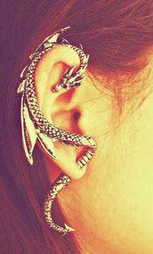 jewels,dragon,earrings,earings,beautifull,ear,silver,ear piercings,jewelry,sterling silver,ring