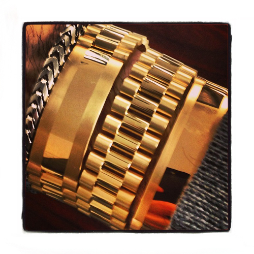 Gold Mens Bracelet-40120 Gold Mens Bracelet Yellow Gold 14k