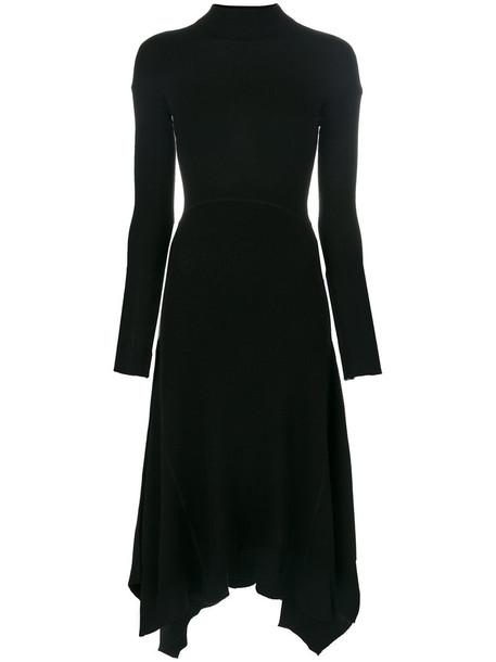 theory dress women black wool