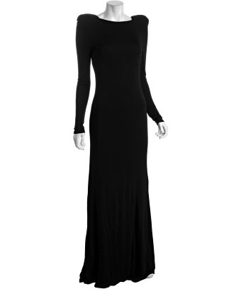Abs long dresses