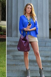 shirt,serena van der woodsen,outfit,style,gossip girl,fashion,blake lively,blouse,blue shirt