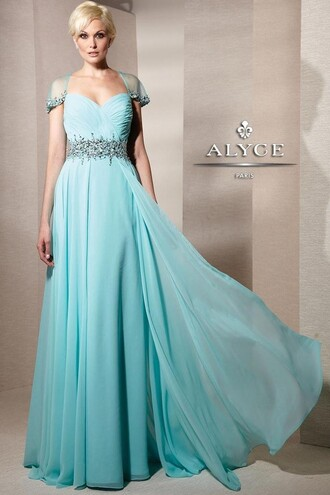 dress mint dress prom dress wedding guest