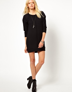 LNA | LnA Cyd Contrast Sweater Dress at ASOS